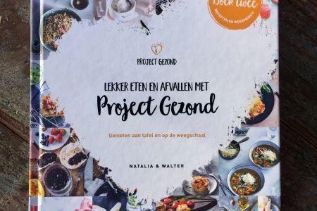 """Kookboek """"Project Gezond"""""""
